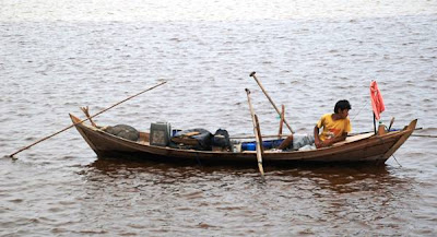 Riau Traditional Fisherman