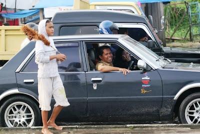 Foto anak jalanan Riau