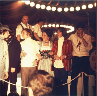 Die Bee Gees auf der Wies'n 1968