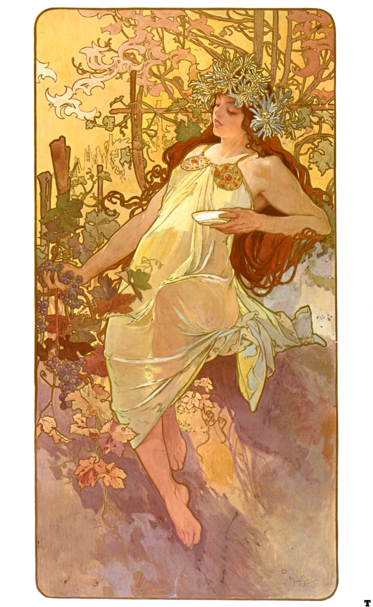Color palette art nouveau - Alphonse Mucha The Moon And The Stars Morning Star 1902 Alphonse Mucha Pinterest The Moon Morning Star And The Morning