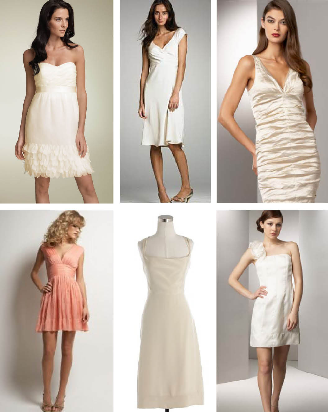 Download this White Party Dresses Collection picture