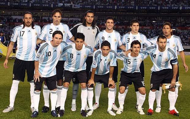 soccer splash argentina football team 2012