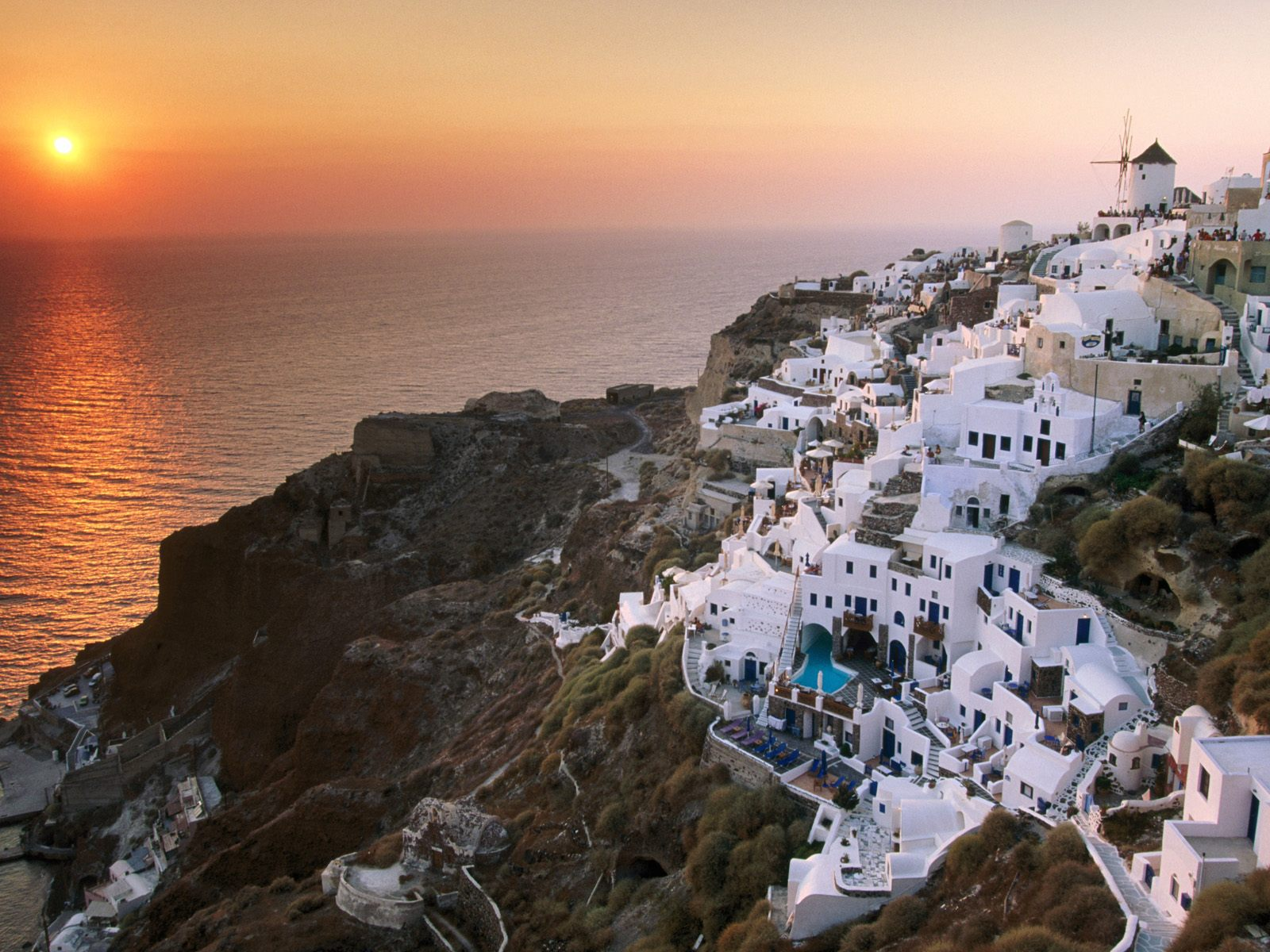 sunset at santorini Book online boat tours-excursions, bus tours-excursions, private tours-excursions in santorini : the bus will take you to the port of athinios to get on board of king thiras and enjoy a welcome drink.