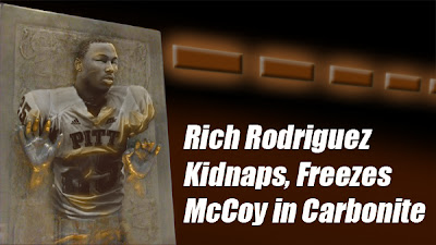 Rodriguez Kidnaps, Freezes McCoy in Carbonite