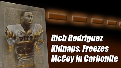 Rodriguez Kidnaps, Freezes McCoy in Carbonite