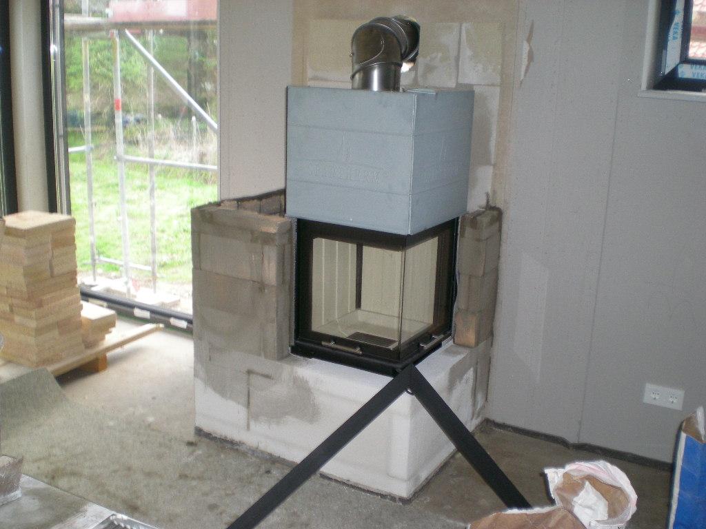 Hier noch ein aktuelles Bild gerade vom Bau: