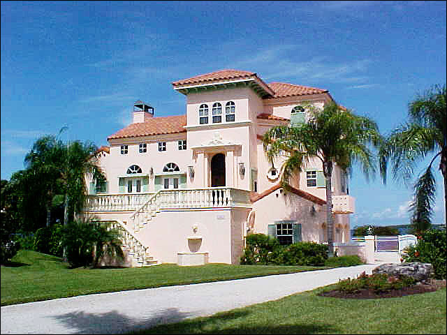 Crossroad puzzle spanish homes in a new land for Florida house styles