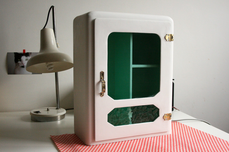 Repurposed Vintage Medicine Cabinet