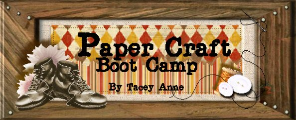 Paper Craft Boot Camp!