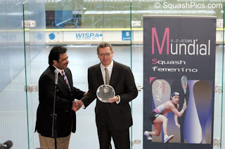 Jahangir Khan at the 2007 Women's World Open
