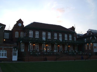 The clubhouse at Queen's Club