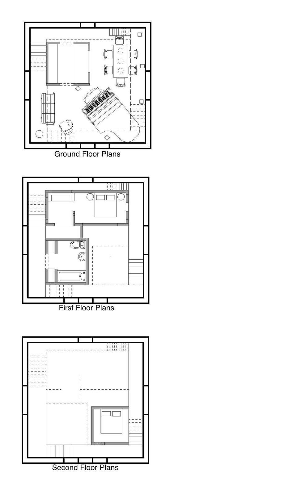 Cube House Rotterdam Floor Plan