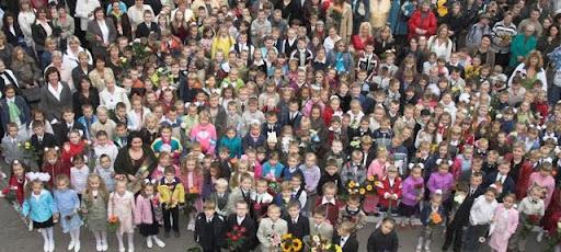 """Vilniaus ,,Atžalyno"""" pradinė mokykla 2009-2010"""