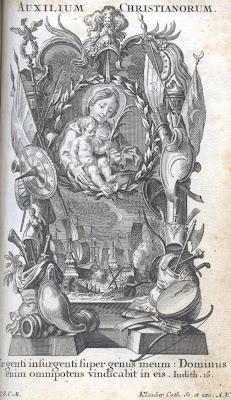 St Pie V et la bataille de Lépante AuxiliumChristianorum
