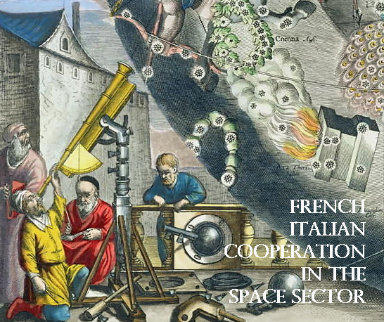 French Italian cooperation in the space sector