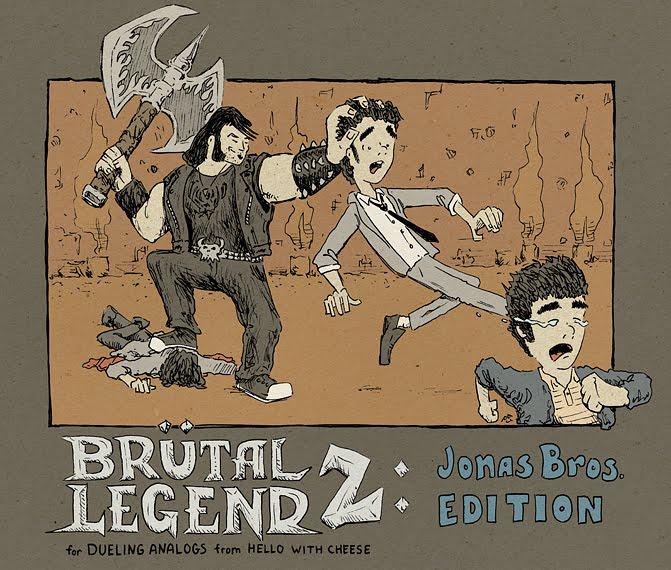 Brutal Legend 2, Jonas Brothers, Brutal Legend jonas brothers