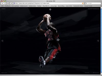 Nike interactive