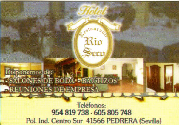 HOTEL RESTAURANTE RIO SECO