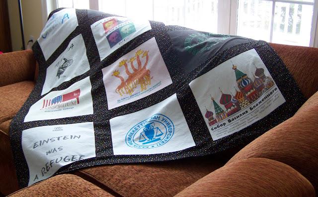 T Shirt Quilts 2011!