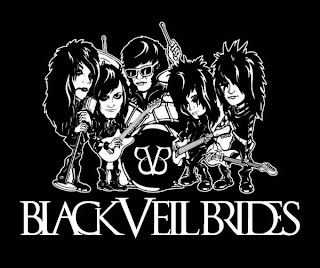 Mehron makeup on Tour with The Black Veil Brides