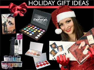 The Holiday Gift of Mehron Makeup