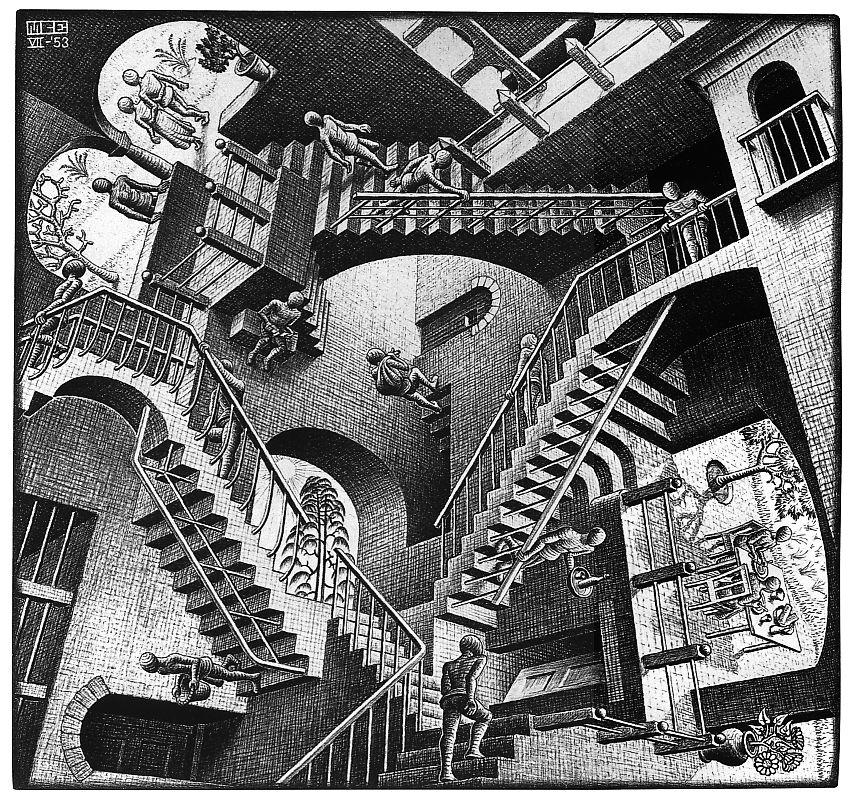 http://1.bp.blogspot.com/_4HECW1UGPl4/R5ICxlcO6KI/AAAAAAAAAWw/OHOdGH1ReTQ/s1600/Escher%2B-%2BRelativity.jpg