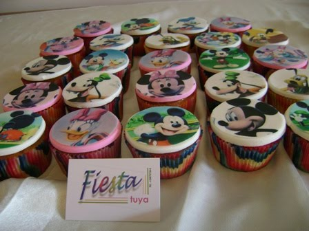 Tortas Bianca: Ponquesitos Mickey Mouse