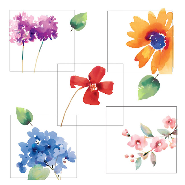 Fitchwellswatercolors for Spring flowers watercolor