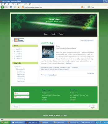 Template Blogger 313