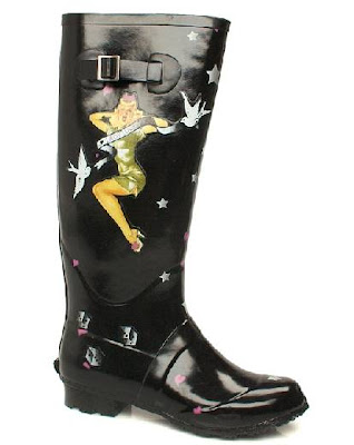 If you're a bit more rock n roll then I love these tattoo print wellies from