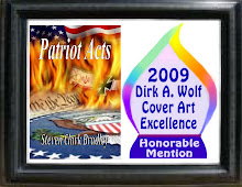 Patriot Acts Wins Dirk A. Wolf Cover Art Excellence Award