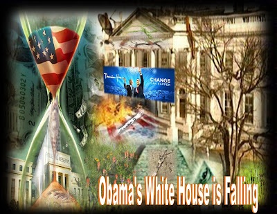 Obama&#39;s White House is Falling Down