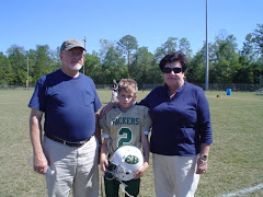 Fall Football with Grandparents