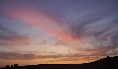Cielo en Mucientes, Valladolid