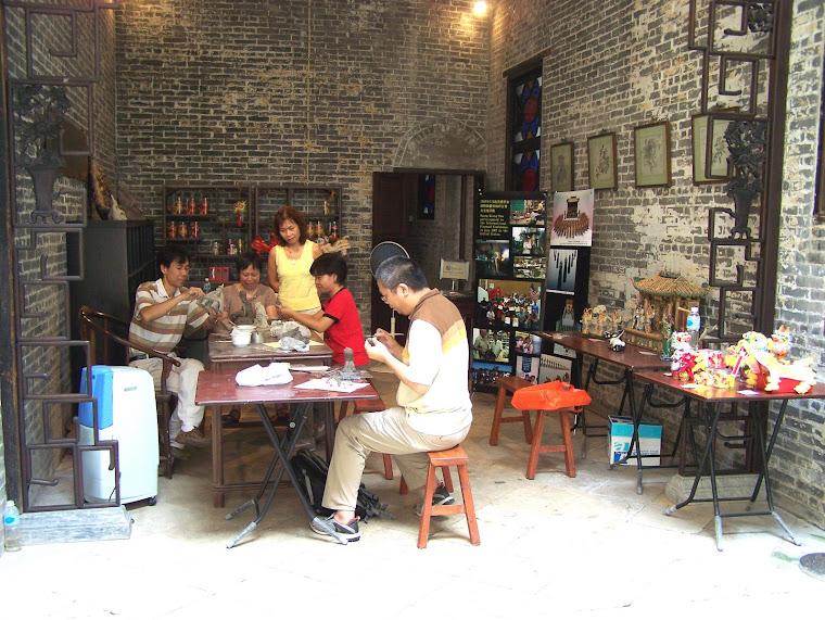 Huang Qiang-hua's Work Studio