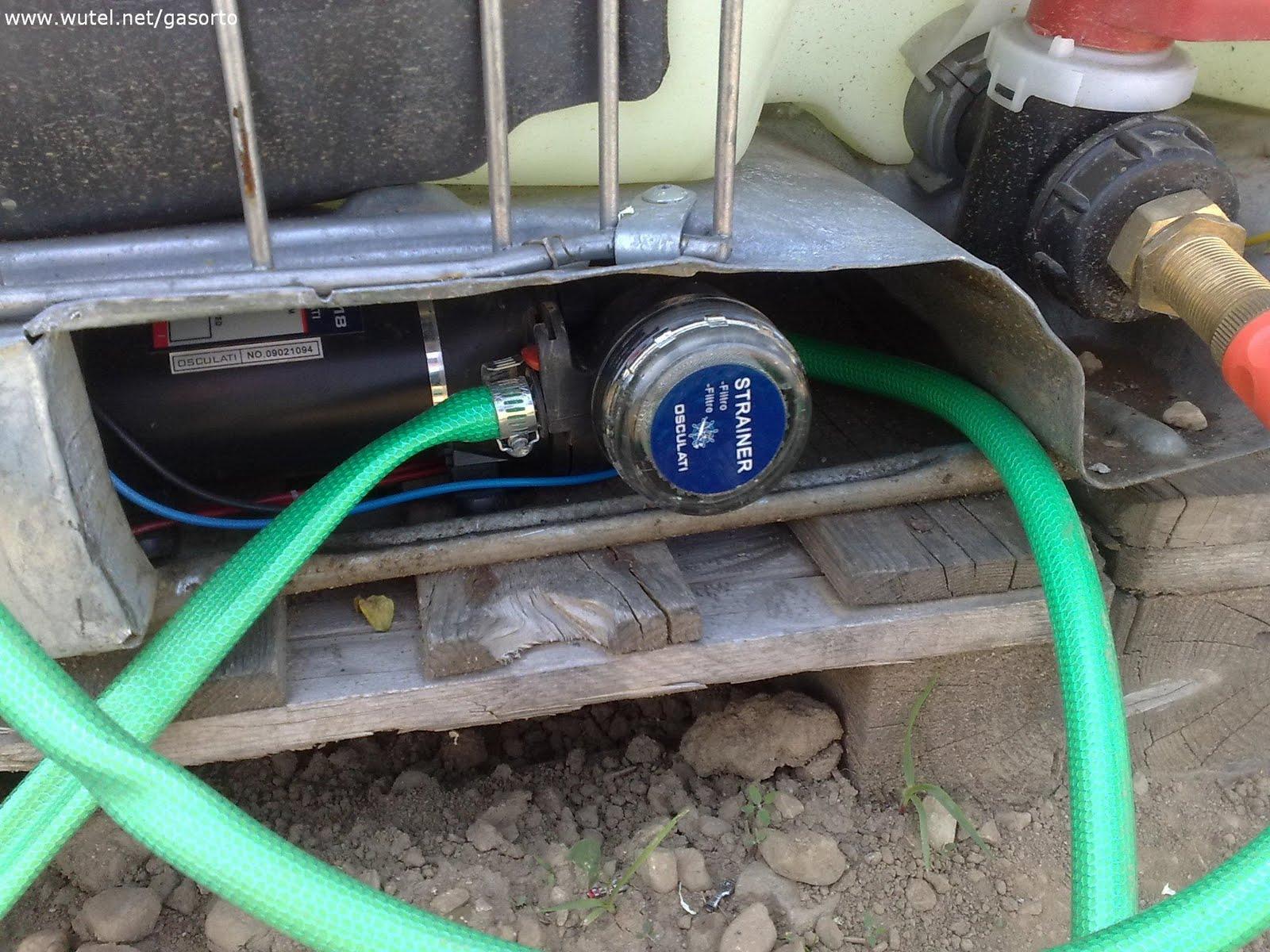 Gasorto di biassono mb acqua dal sole for Pompa irrigazione