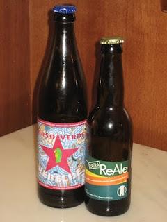 Orso Verde Rebelde & Birra del Borgo Re Ale Extra