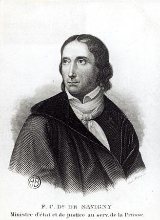 F. C. von Savigny
