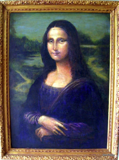 """ Mona Lisa "" Copy Del Ponte"