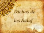 Dichos de los salaf
