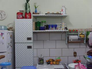 Casa da m e casa da filha redecorando uma micro cozinha - Bater leroy merlin ...