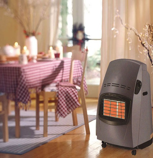 Calor gas heater styles for Stufa a gas delonghi