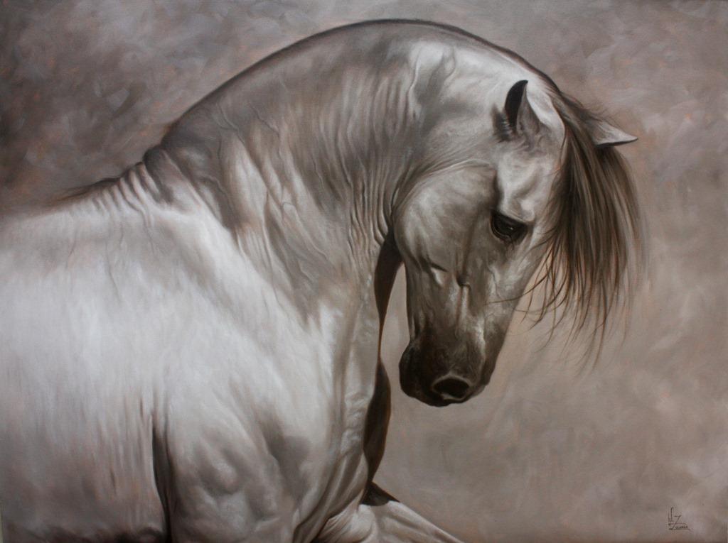 Zuluaga Serie de pintura de caballos Elegancia equina oleo lienzo