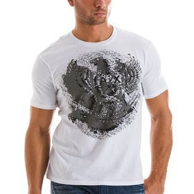 The Armani Exchange AX Studded Eagle T-Shirt