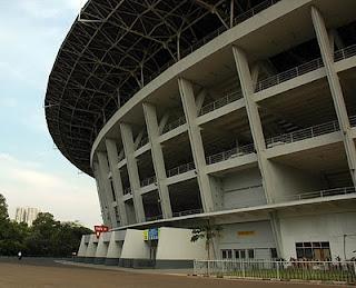 Jakarta's Gelora Bung Karno football stadium, Senayan