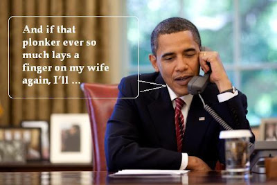 Obama on the phone to SBY