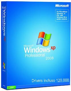 Windows XP - SP3 (PT-BR - Original) + 120 Mil Drivers