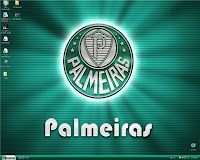 Tema do Palmeiras para Windows XP