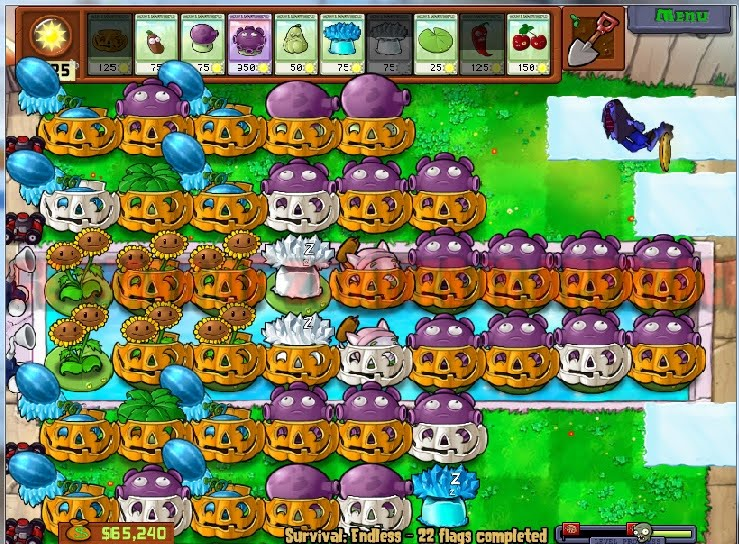 The ultimate formation of plants vs zombies for survival endless