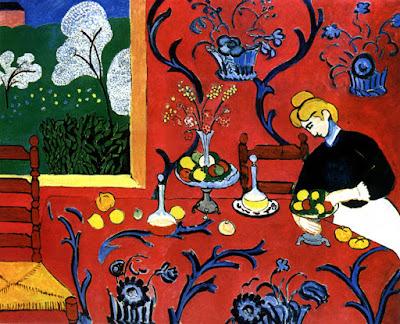 Henri Matisse la desserte rouge -190!